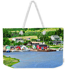 Fishing Village In Pei Weekender Tote Bag