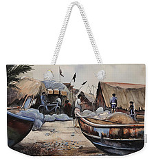 Fishing Village Of Puri Weekender Tote Bag