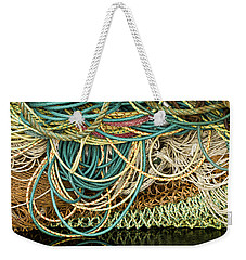 Fishnets And Ropes Weekender Tote Bag