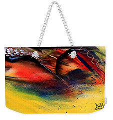 Fishtail Abstract Weekender Tote Bag