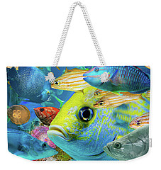 Fishy Collage 02 Weekender Tote Bag