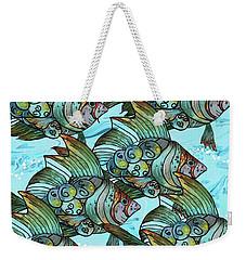 Fishy Fishy Weekender Tote Bag