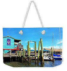 Fishy Fishy Waterside Weekender Tote Bag