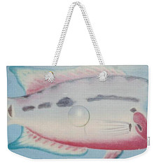 Fishy In Ocean Weekender Tote Bag