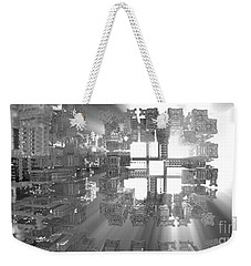 Fitting In Weekender Tote Bag