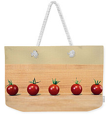 Five Cherry Tomatoes Weekender Tote Bag
