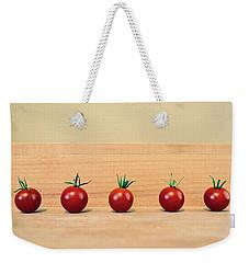 Five Cherry Tomatoes Weekender Tote Bag