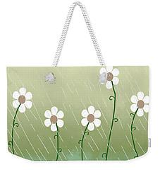 Five Days Of Daisies Weekender Tote Bag