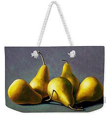 Five Golden Pears Weekender Tote Bag