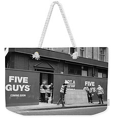 Five Guys Weekender Tote Bag