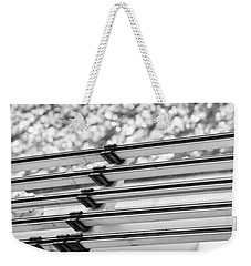 Weekender Tote Bag featuring the photograph Five Lines Over The Deep by Christi Kraft