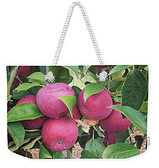 Five Macintosh Apples Weekender Tote Bag