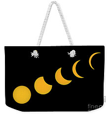 Five Phases Of The Eclipse Weekender Tote Bag