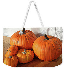 Five Pumpkins Weekender Tote Bag