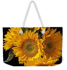 Five Sunflowers Weekender Tote Bag