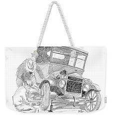Fixin' The T Weekender Tote Bag