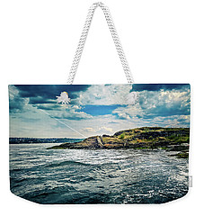 Fjord From The Ferry Weekender Tote Bag