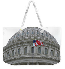Flag And Dome Weekender Tote Bag