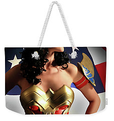 Flag And Fury Weekender Tote Bag