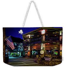Flag And Moonshine Weekender Tote Bag
