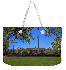 Flag At Entrance Weekender Tote Bag