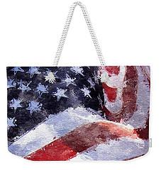 Flag Weekender Tote Bag
