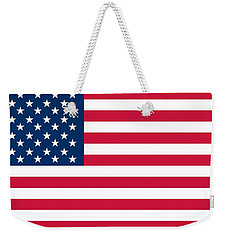 Flag Of The United States Of America Weekender Tote Bag