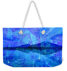 Flagstaff Lake Blu Weekender Tote Bag