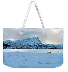 Flakstad, Lofoten, Weekender Tote Bag by Dubi Roman