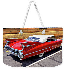 Weekender Tote Bag featuring the photograph Flamboyant Fifty-nine by Christopher McKenzie