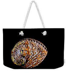 Flame Abalone Weekender Tote Bag