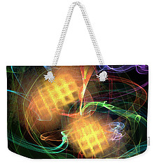 Flame Art 2 Weekender Tote Bag by Maciek Froncisz