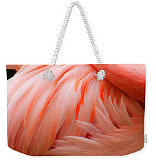 Flame Colored Weekender Tote Bag