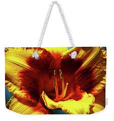 Flame Daylily 1238 H_2 Weekender Tote Bag