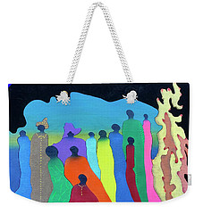 Flame Weekender Tote Bag