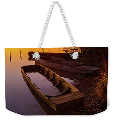 Flame Of Dawn Weekender Tote Bag