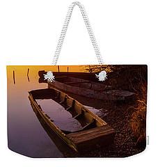 Flame Of Dawn Weekender Tote Bag