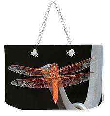 Flame Skimmer Weekender Tote Bag