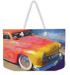 Flamed Mercury Weekender Tote Bag