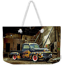 Flamed Pickup Weekender Tote Bag