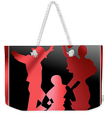 Flamenco Dancers Weekender Tote Bag by Leo Symon