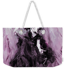 Weekender Tote Bag featuring the painting Flamenco Spanish Dance Art by Gull G