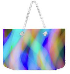 Flames Of Iridescence Weekender Tote Bag