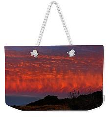 Flames Over The Pacific  Weekender Tote Bag