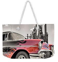 Flamin' 57 Weekender Tote Bag