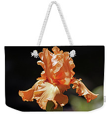 Flaming Floral Weekender Tote Bag