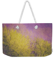 Weekender Tote Bag featuring the photograph Flaming Foliage 3 by Ari Salmela