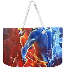 Flaming Lovers Weekender Tote Bag