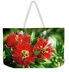 Flaming Red Weekender Tote Bag