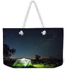 Flaming Sky Weekender Tote Bag